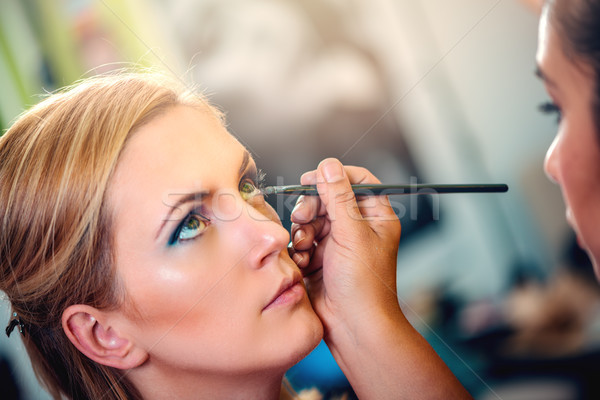 Stock photo: Make-up Artist
