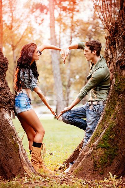 Autumn Love Stock photo © MilanMarkovic78