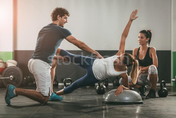 Crossfit Workout Stock photo © MilanMarkovic78