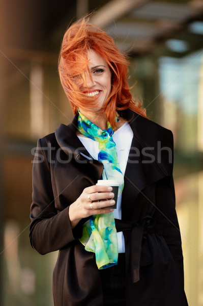 With The Wind In Your Hair Stock photo © MilanMarkovic78
