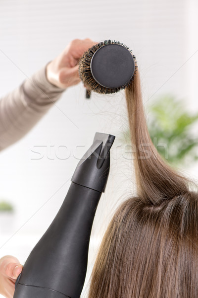 Hair Drying Stock photo © MilanMarkovic78
