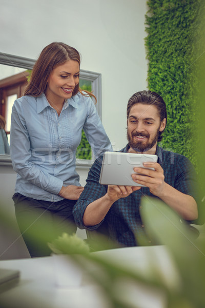 Technology Lends A Fun Aspect To Business Stock photo © MilanMarkovic78