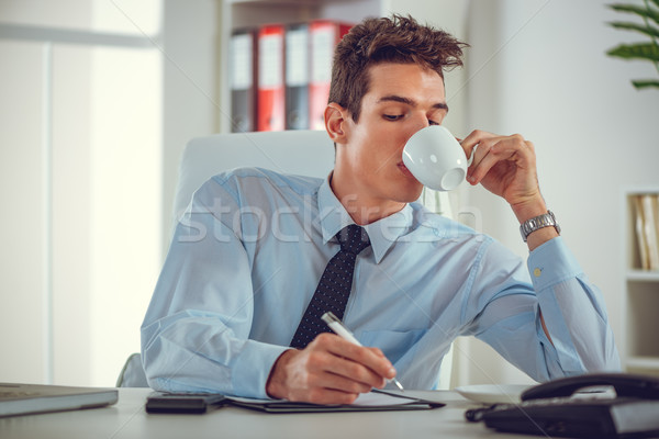 Ordinary Morning In Office Stock photo © MilanMarkovic78