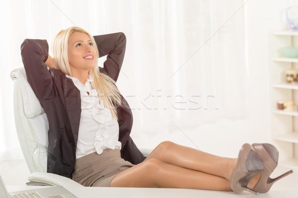 Successful Businesswoman Stock photo © MilanMarkovic78