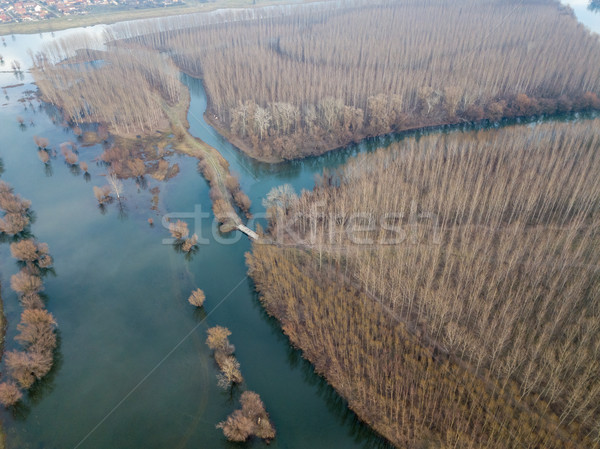 River View From Above Stock photo © MilanMarkovic78
