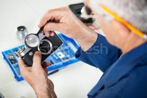 Camera Repair Stock photo © MilanMarkovic78