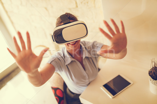 Bringing Virtual Into Reality! Stock photo © MilanMarkovic78