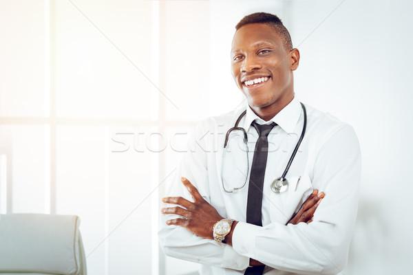 African Doctor Stock photo © MilanMarkovic78