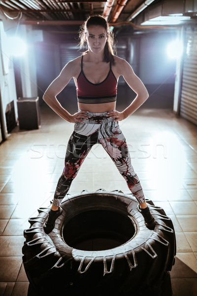 Fit And Strong Stock photo © MilanMarkovic78
