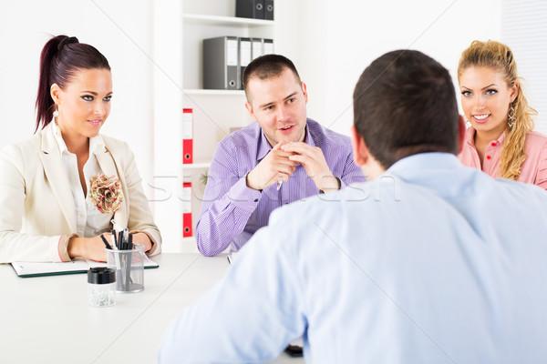 Job interview Stock photo © MilanMarkovic78