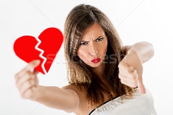Broken Heart Stock photo © MilanMarkovic78