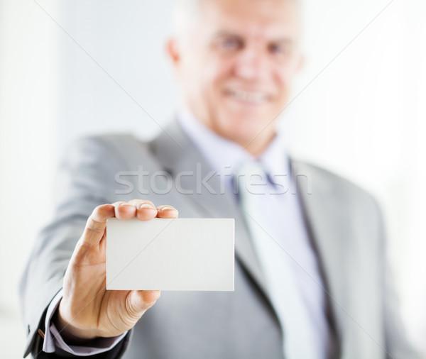 Business Card Stock photo © MilanMarkovic78