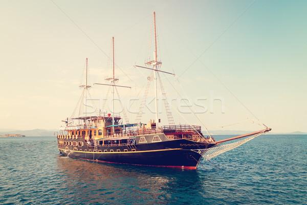 Sailboat Stock photo © MilanMarkovic78