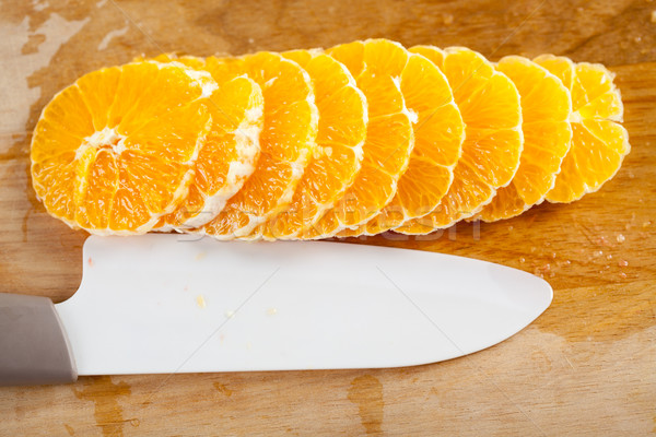Orange Fruit Slice Stock photo © MilanMarkovic78