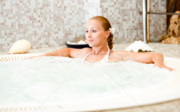 Relaxing In The Jacuzzi Stock photo © MilanMarkovic78