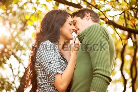 Kiss mnie mój młodych Zdjęcia stock © MilanMarkovic78