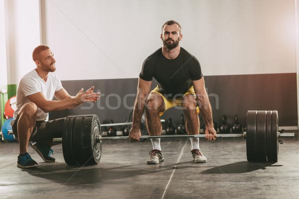 Cross Training Stock photo © MilanMarkovic78