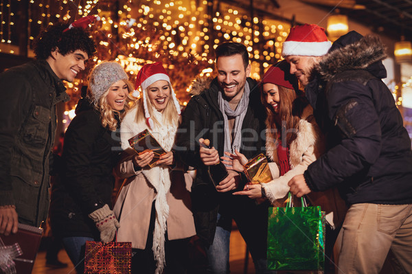New Year's Eve Outside Stock photo © MilanMarkovic78