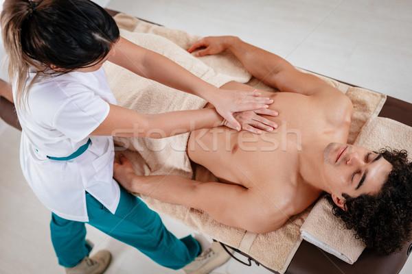 Wellbeing Massage Stock photo © MilanMarkovic78