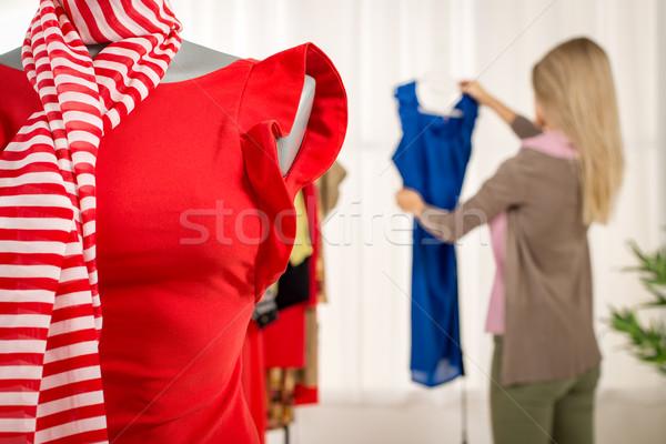 Robe mannequin mode designer bureau Photo stock © MilanMarkovic78