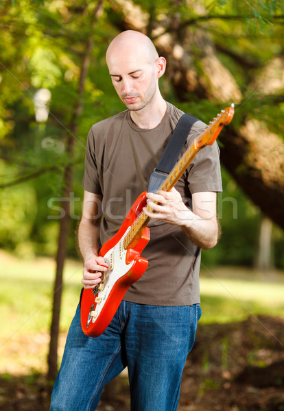 Guitarist Stock photo © MilanMarkovic78