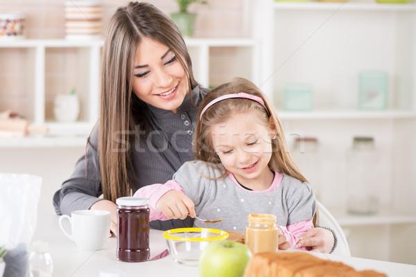 Making Breakfast In The Morning Stock photo © MilanMarkovic78