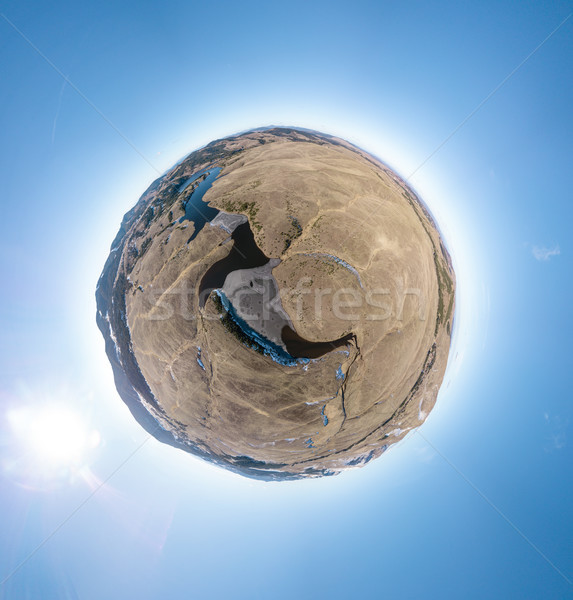 Planet Of Rocks And Lakes Stock photo © MilanMarkovic78