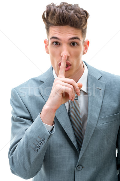 Hush, It's A Secret! Stock photo © MilanMarkovic78