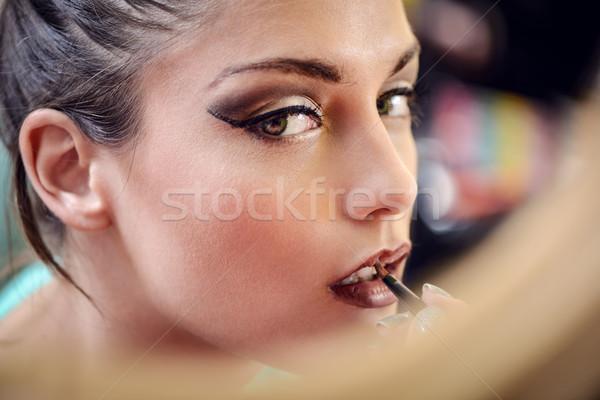 Make-up Stock photo © MilanMarkovic78
