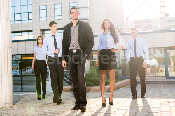 Proud Of My Team Stock photo © MilanMarkovic78