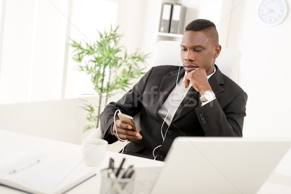 Work Can Be Relaxing Stock photo © MilanMarkovic78