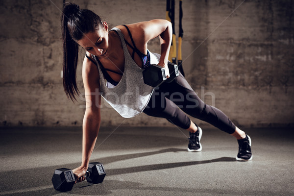 Fitness And Exercise Stock photo © MilanMarkovic78