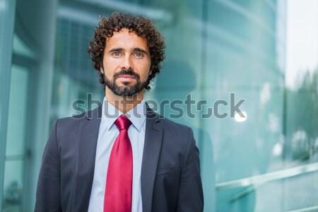 Serious manager portrait Stock photo © Minervastock