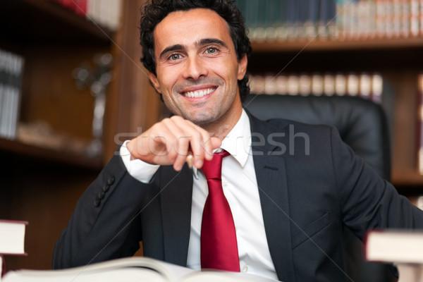 Confident lawyer in his studio  Stock photo © Minervastock