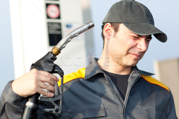 Gasoline price is getting too high Stock photo © Minervastock