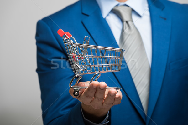Modern online marketing and shopping concept Stock photo © Minervastock
