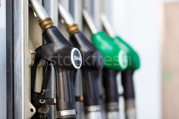 Fuel nozzle Stock photo © Minervastock