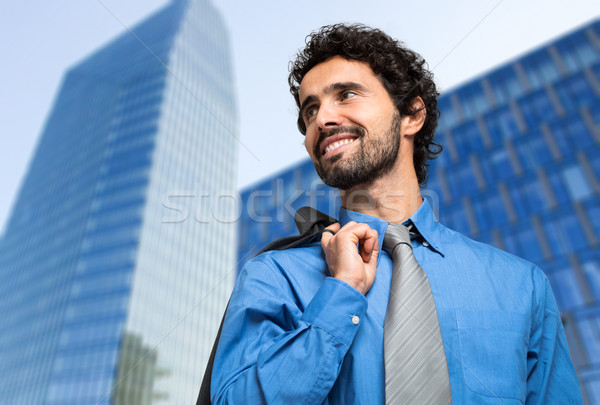 Successful manager outdoor Stock photo © Minervastock