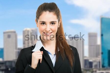 Confident businesswoman portrait Stock photo © Minervastock