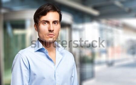 成功した マネージャ 屋外 肖像 都市 男 ストックフォト © Minervastock