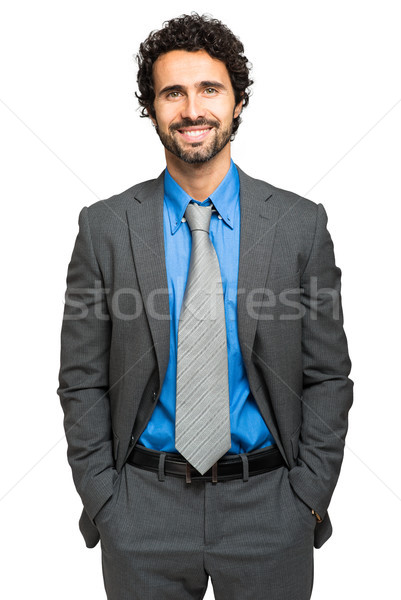 Handsome male manager portrait Stock photo © Minervastock