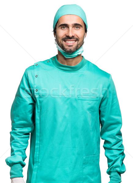 Surgeon isolated on white  Stock photo © Minervastock