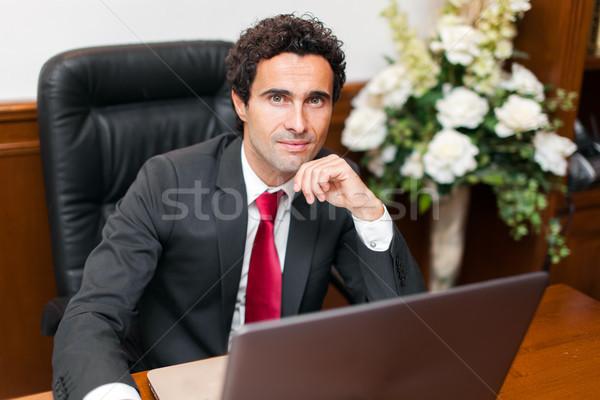 Portre başarılı işadamı ofis iş adam Stok fotoğraf © Minervastock