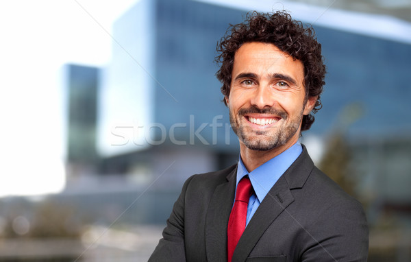 Confident male manager Stock photo © Minervastock
