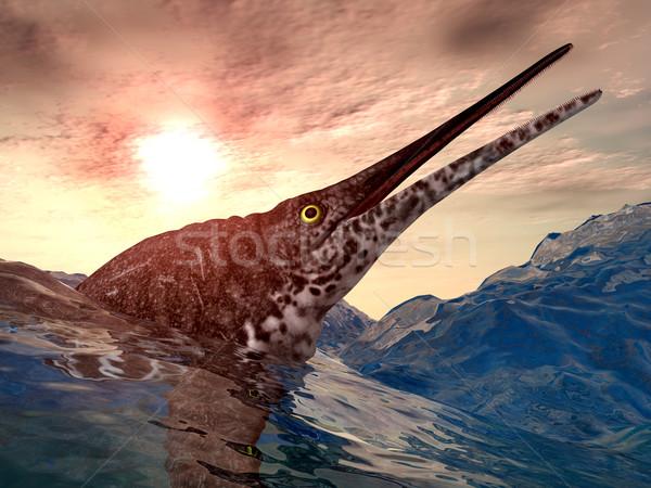 Ichthyosaur Shonisaurus Stock photo © MIRO3D