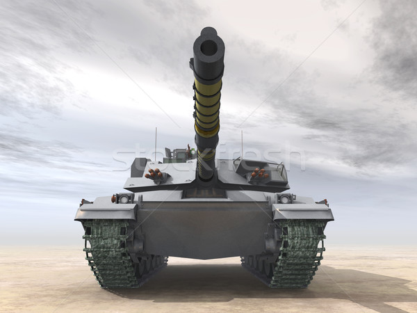 British Main Battle Tank Stock photo © MIRO3D