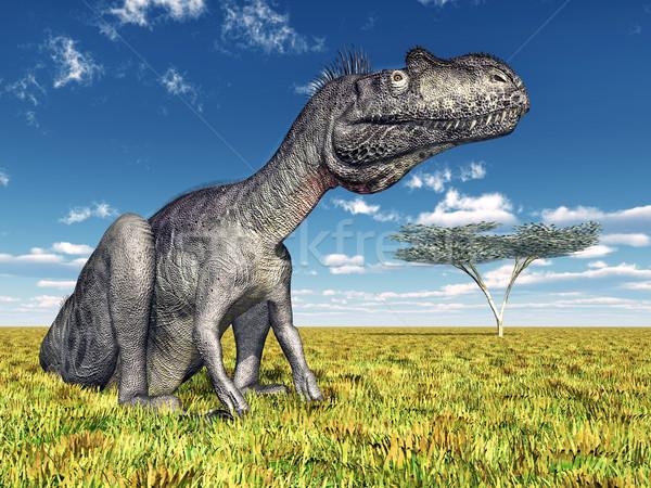 Dinoszaurusz számítógép generált 3d illusztráció természet tudomány Stock fotó © MIRO3D