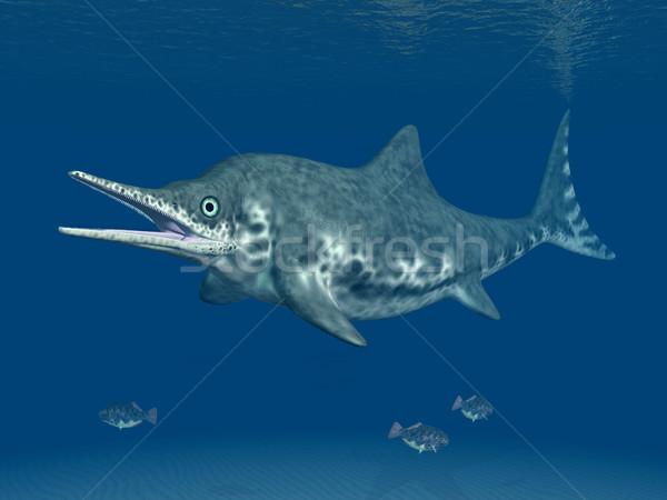 Ichthyosaur Stenopterygius Stock photo © MIRO3D