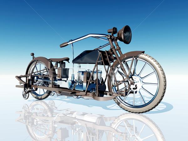 Classic Motorcycle Stock photo © MIRO3D