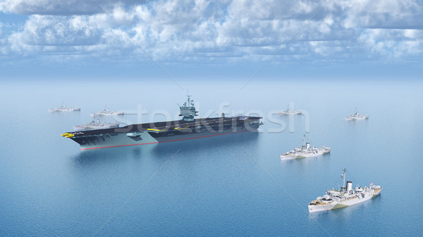 Military Ships Stock photo © MIRO3D